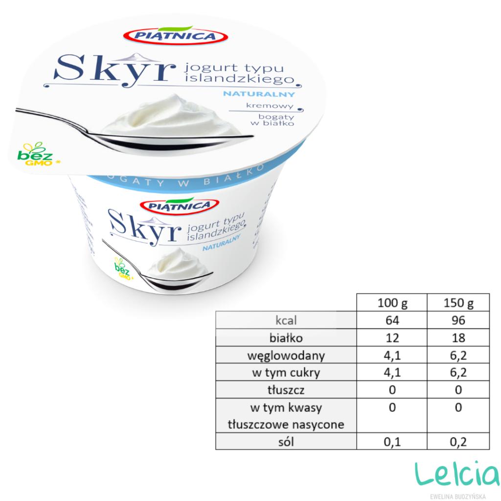 jogurt skyr naturalny piątnica