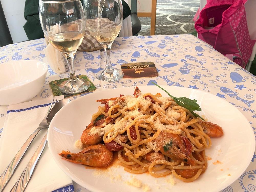 obiad w Chiosco Bar San Francesco