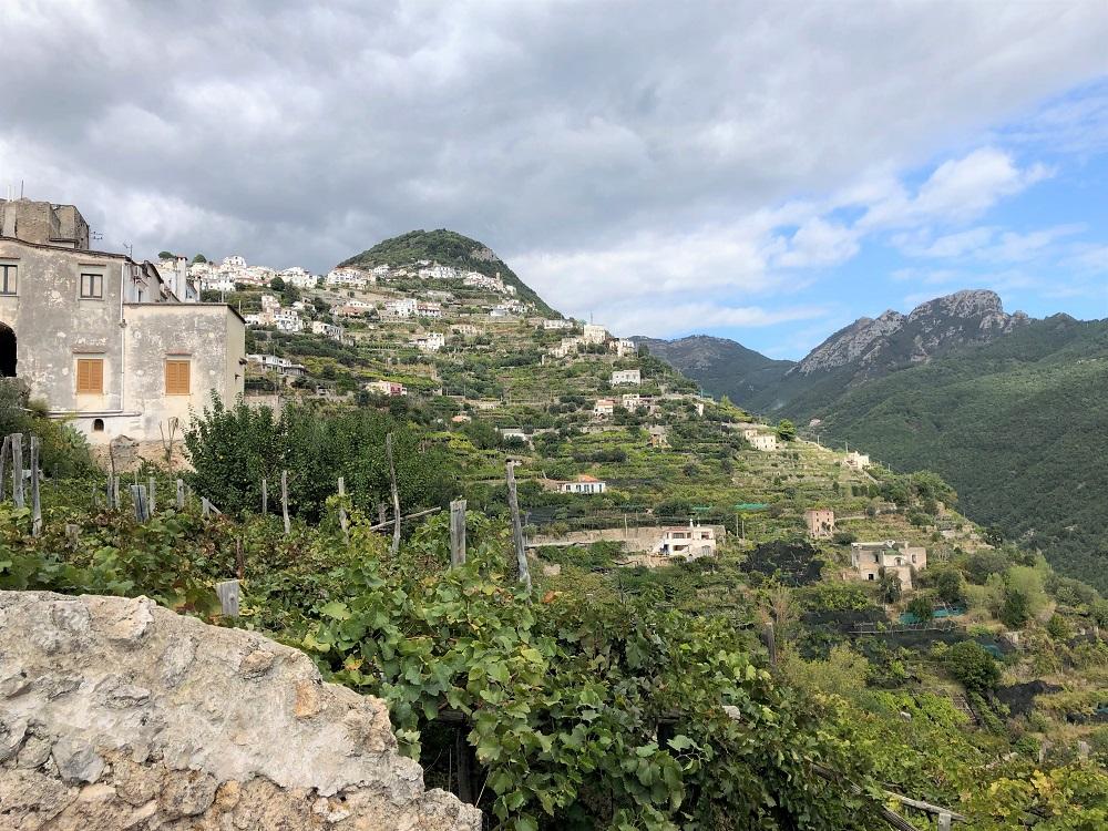 Piesza wycieczka z Maiori do Ravello.