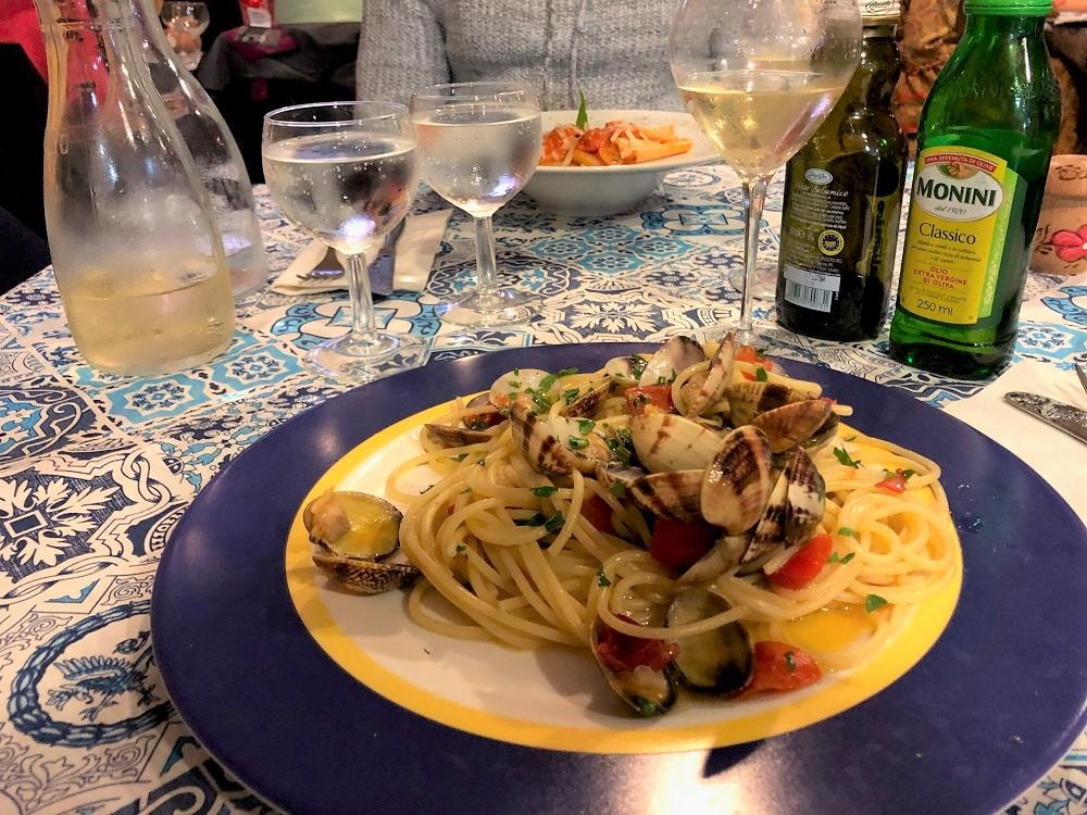 La Terrazza Spaghetti alle vongole
