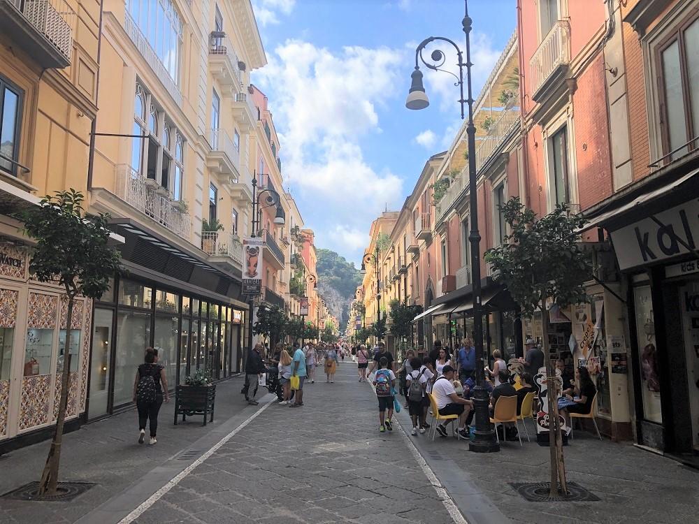Główna ulica w Sorrento