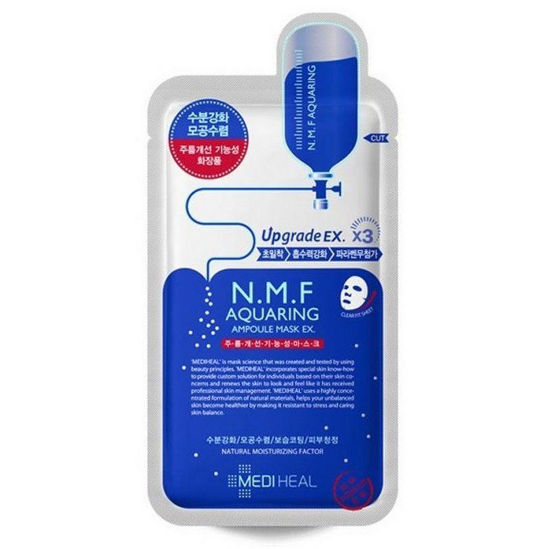 MEDIHEAL Maska-ampułka nawilżająca z N.M.F. przeciwzmarszczkowa 27 ml