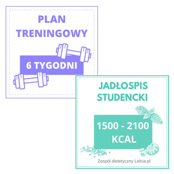 jadlospis studencki plan treningowy