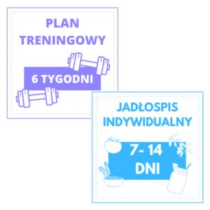 jadlospis indywidualny plan treningowy