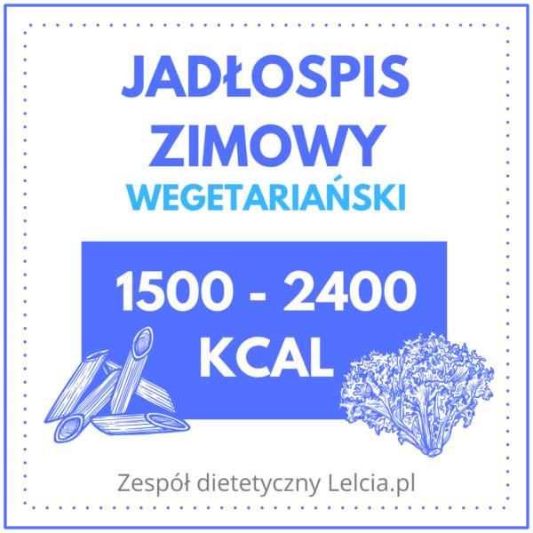 jadlospis zimowy wegetarianski