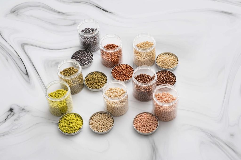 Różne rośliny strączkowe - nasiona.