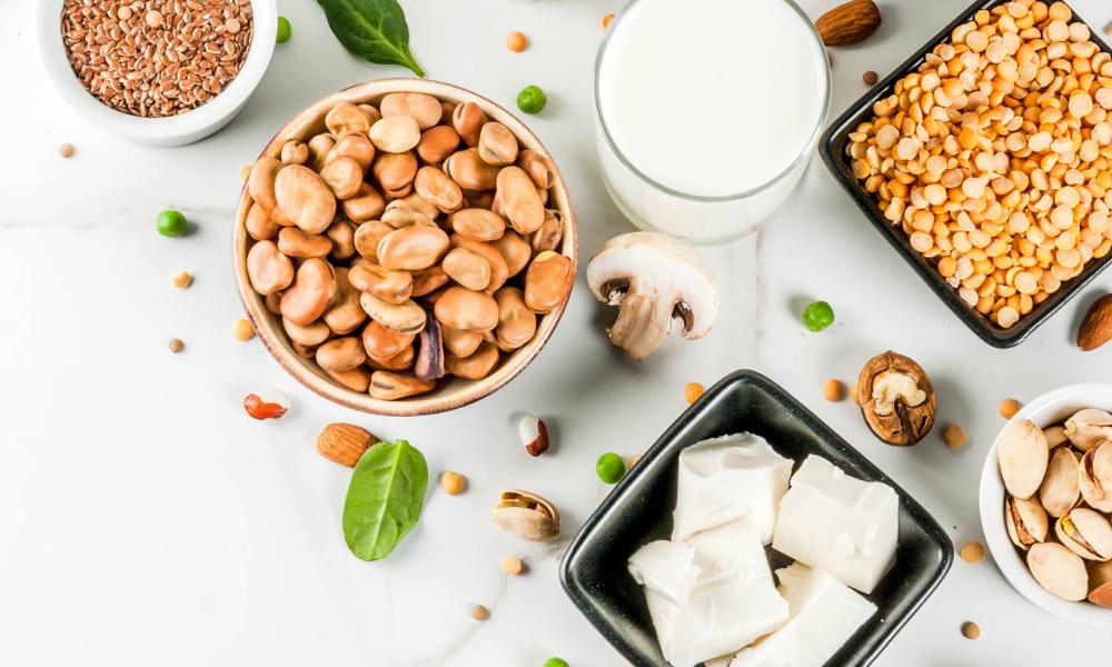Dieta roślinna - źródła białka, lelcia.pl