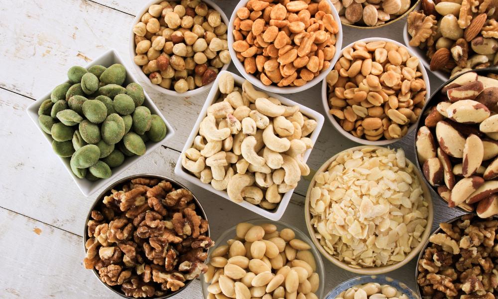 Kwasy tłuszczowe omega-6 występują głównie w orzechach i nasionach, lelcia.pl