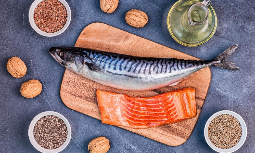 Ryby, nasiona lnu i chia to źródła omega-3, lelcia.pl
