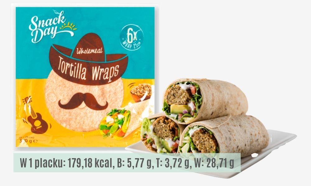 Placki tortilla pełnoziarniste - polecane produkty z Lidla, lelcia.pl