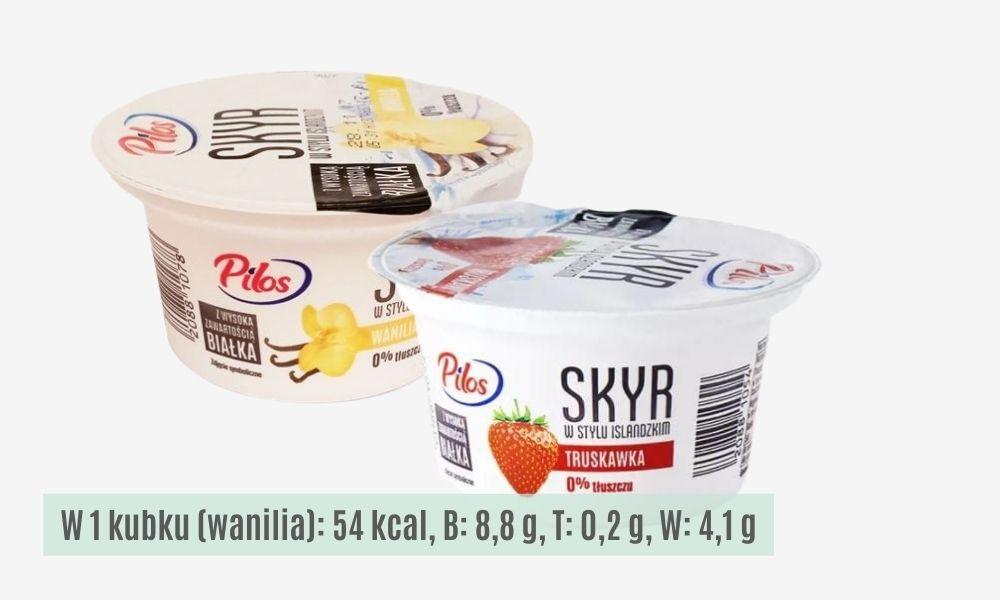 Jogurty skyr Pilos to doskonałe źródło białka, lelcia.pl