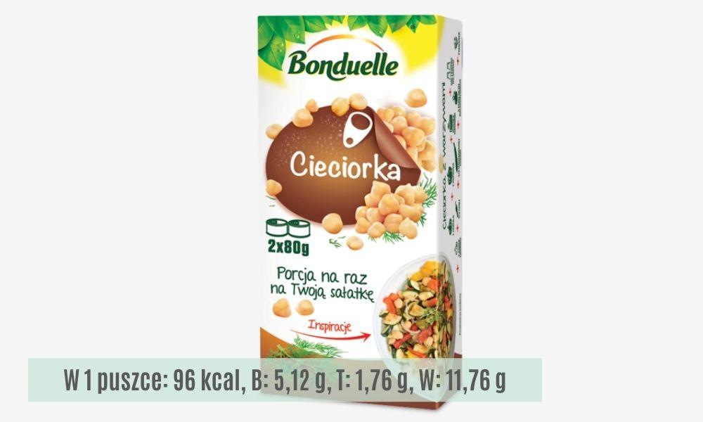 Cieciorka Bonduelle, porcja na raz, lelcia.pl